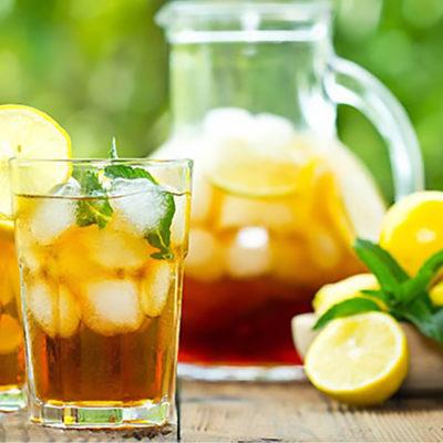 The Perfect Iced Lemon Tea